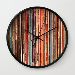 33-1/3 RPM Wall Clock