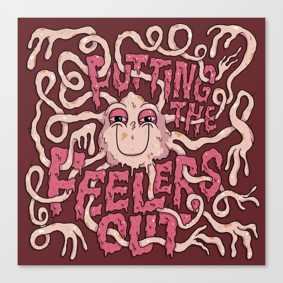 Putting the Feelers Out Canvas Print