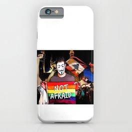 lebanese thawra artist iPhone Case