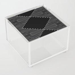 Geo / Black Acrylic Box