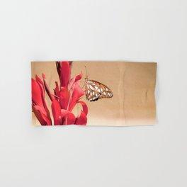 """Gulf Fritillary 2"" by Murray Bolesta! Hand & Bath Towel"