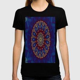 """Kaliedoscope/Mandala -  """"Stained Glass"""" T-shirt"""