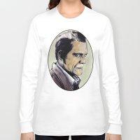 walking dead Long Sleeve T-shirts featuring The Walking Dead by Zombie Rust