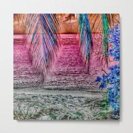 Paradiso, pink Metal Print