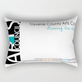 Fundraiser:  Traverse County Arts Council Rectangular Pillow