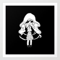 vampire Art Prints featuring ▴ vampire ▴ by PIXIE ❤︎ PUNK
