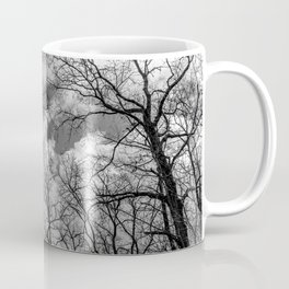 It's cloudy over the woods Coffee Mug