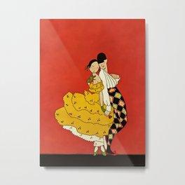 """Harlequin Dancer"" by Annie Fish Metal Print"