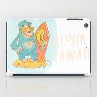 yeti iPad Cases featuring YETI by Галина Дук