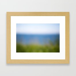 Land. Sea. Air. Framed Art Print