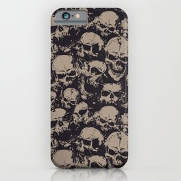 Skulls Seamless iPhone Case
