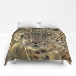 Leopard - On the Prowl Comforters