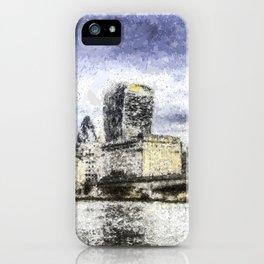 City of London Art iPhone Case