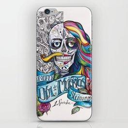 Día de Muertos ANALOG zine iPhone Skin