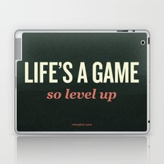 Life's a Game, so level up. Laptop & iPad Skin