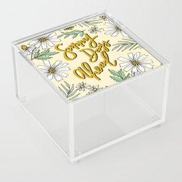 SUNNY DAYS AHEAD Acrylic Box