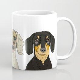 Triple Doxies Coffee Mug