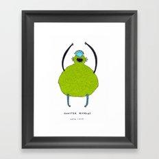 Monster Monday Framed Art Print