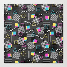 Welcome to the 90s Canvas Print