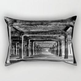 Under the pier Rectangular Pillow