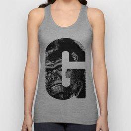 G is for Gorilla Unisex Tank Top