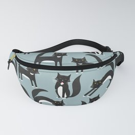 Black and White Cats Fanny Pack