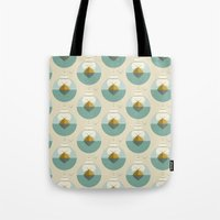 sailboat Tote Bags featuring Sailboat by FLATOWL