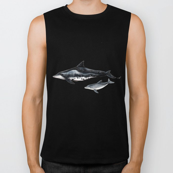 Rough-toothed dolphin (Steno bredanensis) Biker Tank