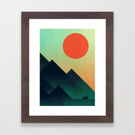 World to see Framed Art Print