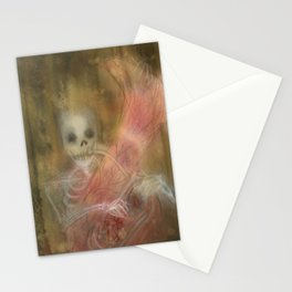 I turned my back to the World  Stationery Cards