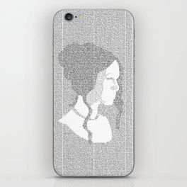 Pride and Prejudice iPhone Skin
