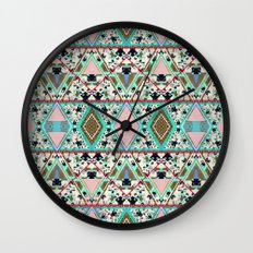 AQUA KALEIDOSCOPE  Wall Clock