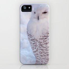 Harfang des neiges iPhone Case