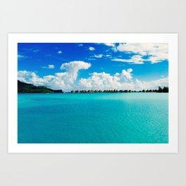 BORA BORA, TAHITI Art Print
