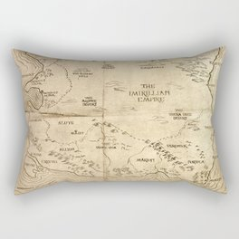 Map of Imirillia Rectangular Pillow