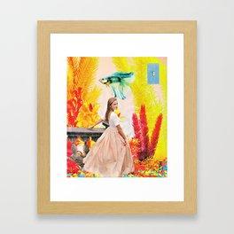 Fish Bowl Ball Framed Art Print