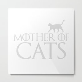 Mother Of Cats Metal Print