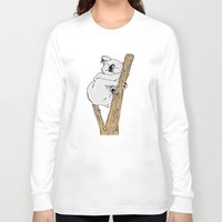 koala Long Sleeve T-shirts featuring Koala by Madmi