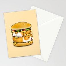 Double Corgi Pounder Stationery Cards