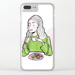 Breakfast in Style Clear iPhone Case