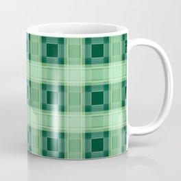 Green plaid Coffee Mug