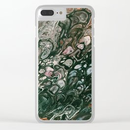 Neptune Lagoon Clear iPhone Case