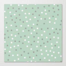 Stars Pattern 1 Canvas Print