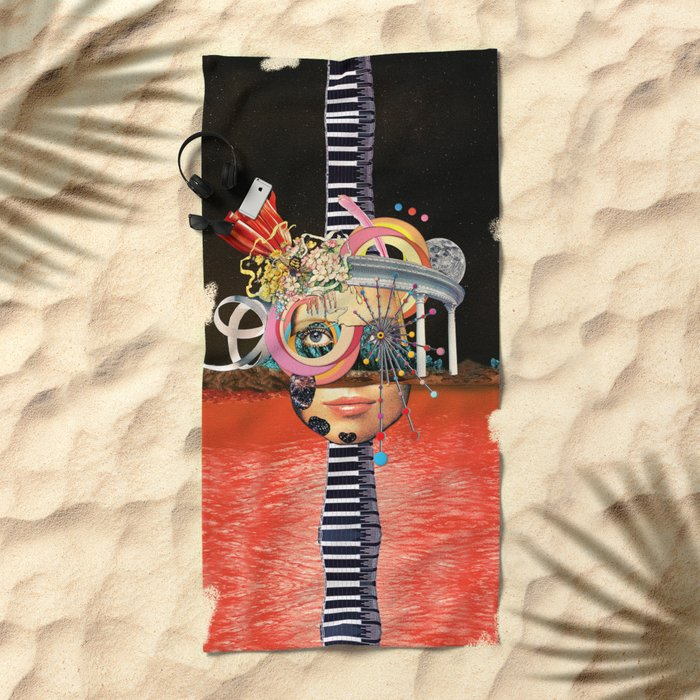 All About Perspective Beach Towel