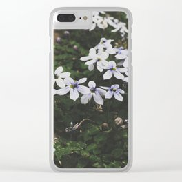 Little Whites Clear iPhone Case