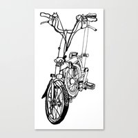 brompton Canvas Prints featuring Brompton by Swasky