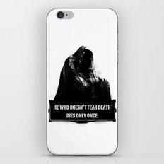 Commendatore iPhone & iPod Skin