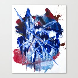 Crystalline Drop Canvas Print