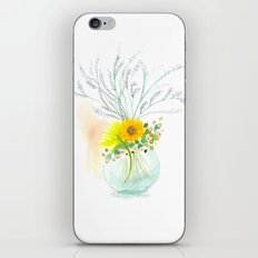 Little Vase Of Flowers iPhone Skin
