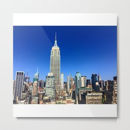Summer in the City Metal Print
